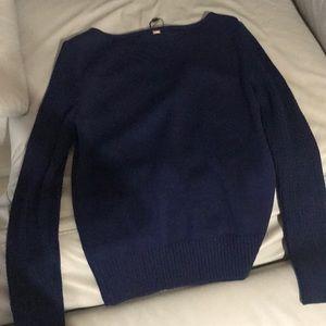 St. John Sweaters - NWT navy blue st. john sweater top